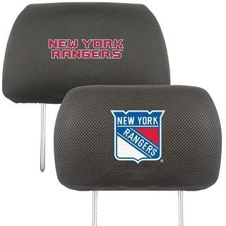 "NHL - New York Rangers Head Rest Cover 10""x13"""