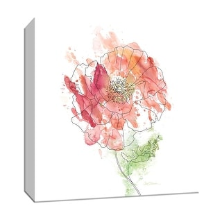 "PTM Images 9-147218  PTM Canvas Collection 12"" x 12"" - ""Simple Study II"" Giclee Flowers Art Print on Canvas"