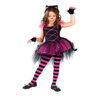 Girls Kitten Costume - Catarina Ballerina Costumes