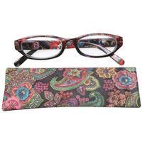 Women's Paisley High Powered Reading Glasses