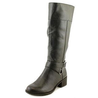 Style & Co Vedaa Round Toe Synthetic Mid Calf Boot