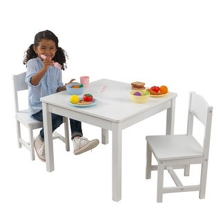 KidKraft: Aspen Table & 2 Chairs - White