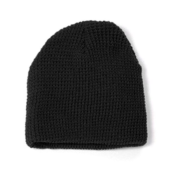 97bc48e0d18639 Shop GI Watch Cap Cuffless Beanie - Black - Free Shipping On Orders Over  $45 - Overstock - 16948487