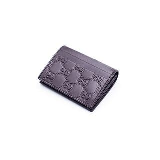 Gucci Women's Brown Leather GG Supreme Canvas Card Case|https://ak1.ostkcdn.com/images/products/is/images/direct/0c37a6bde2817913c6a03155e32c14323bfff78f/Gucci-Women%27s-Brown-Leather-GG-Supreme-Canvas-Card-Case.jpg?impolicy=medium