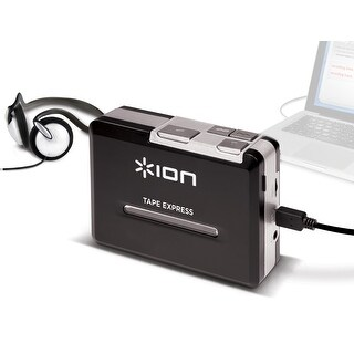 ION ION-TAPE-EXPRESSM Portable Tape to MP3 Player w/ Headphone