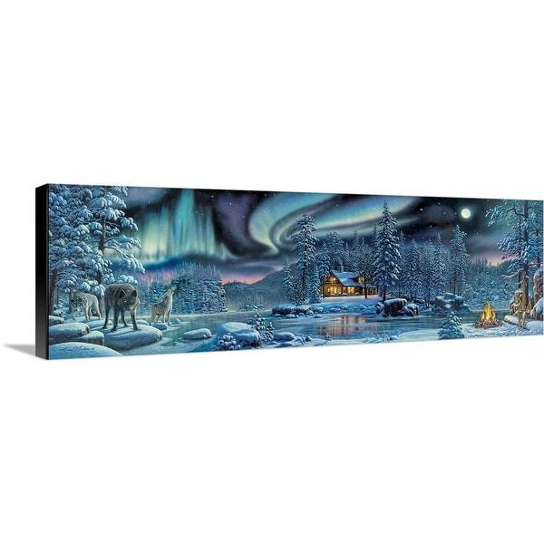 """Rivers of Light Trilogy"" Canvas Wall Art"