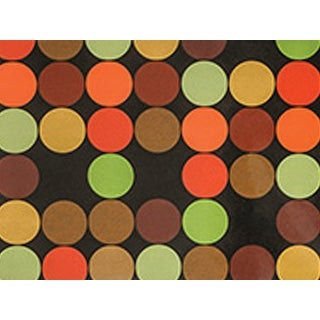 Pack Of 1, 24 x 85' Modern Dots Gift Wrap Roll For Approximately 50 Gifts Made In Usa