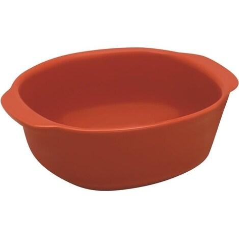 Corningware 1114114 Casserole Baking Dish, 20 Oz, Vermillion