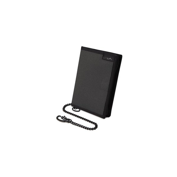 Pacsafe RFIDsafe Z150-Charcoal Anti-Theft RFID Blocking Compact Organiser