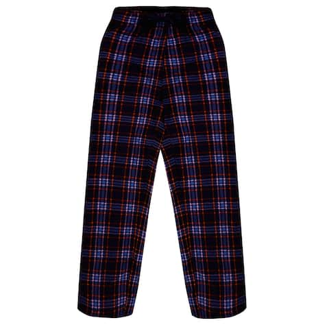 Mystery Deal Men's Ultra Soft Flannel Plaid Pajama Lounge Pants