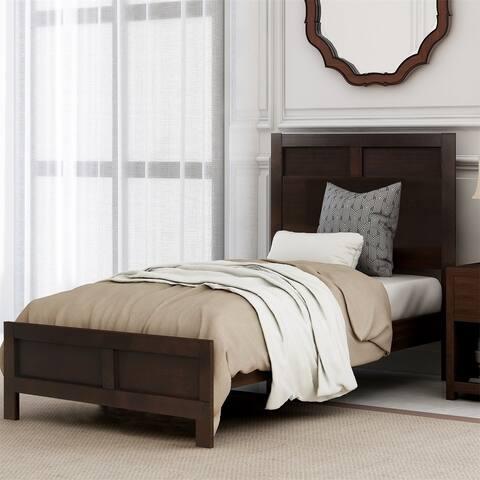 Merax Classic Twin Platform Bed