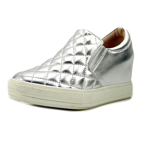 Wanted Brioches Women Synthetic Silver Fashion Sneakers