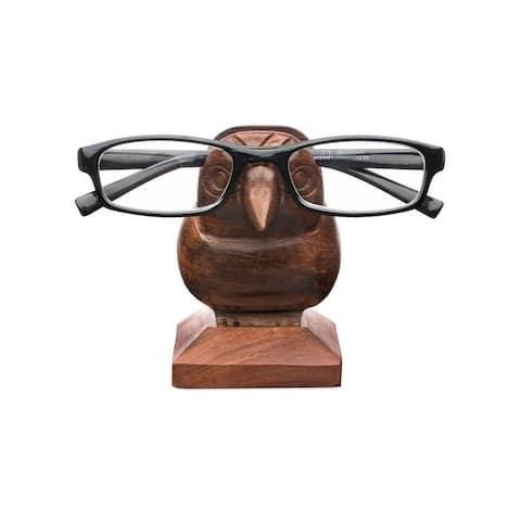 "Sparrow Eyeglass Holder - 5 1/8"" L, 2 5/8"" W, 4 7/8"" H"