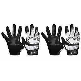 Cutters Rev Pro Receiver Gloves (Black /XL) Comes With 2 Pairs