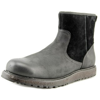 Ugg Australia Witmore Men  Round Toe Leather Black Boot