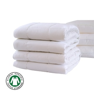 Link to GOTS Certified Organic Cotton 400GSM NewZealand Pure Wool Duvet Inserts White Similar Items in Mattress Pads & Toppers