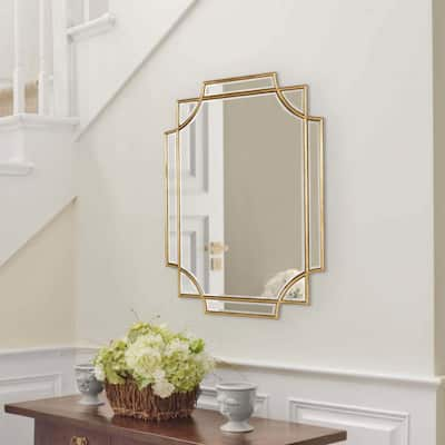 Kate and Laurel Minuette Decorative Framed Wall Mirror