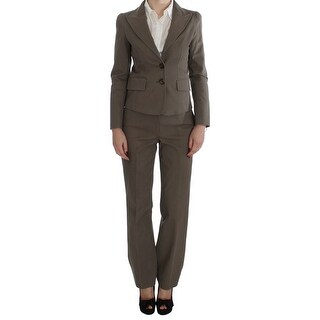 BENCIVENGA Beige Wool Cotton Suit