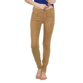 Agave Denim Delgada Skinny Jean in Croissant