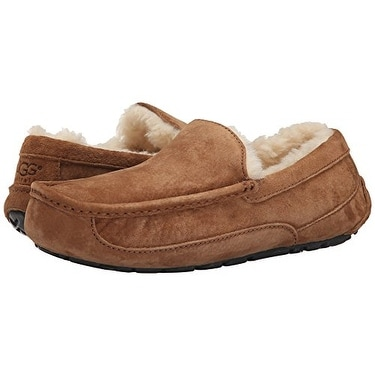 1f5f95bcaef UGG Men's Ascot Slipper, Chestnut, 10 M US