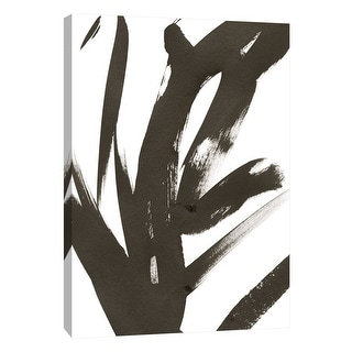"PTM Images 9-108588  PTM Canvas Collection 10"" x 8"" - ""Composition in Black and White 11"" Giclee Abstract Art Print on Canvas"