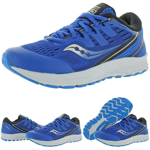 Saucony Boys Guide ISO 2 Running Shoes Performance Lace Up - Blue