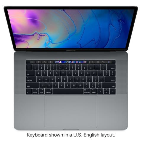 "Apple MacBook Pro 5R932LL/A Intel Core i7-8750H X6 2.2GHz 16GB 256GB SSD 15.4"",Silver(Refurbished)"