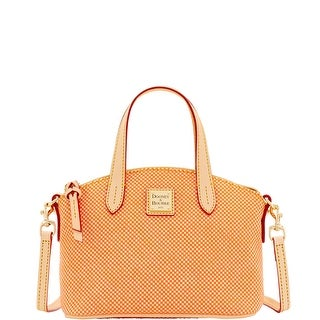 Dooney & Bourke Claremont Quadretto Ruby (Introduced by Dooney & Bourke at $158 in Dec 2016) - Tangerine