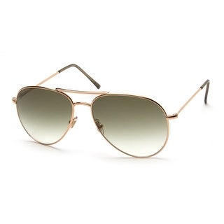 Gucci Men's Women's Unisex Aviator Sunglasses 1287/S Rose Gold - Small