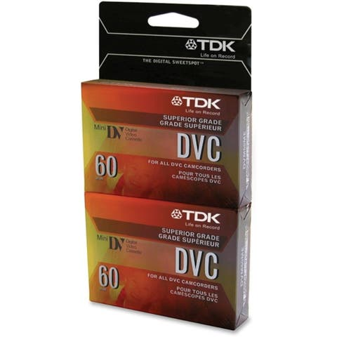 TDK, Video, DVC Mini Digital , 60 minute, 2/PK W Hangtab