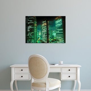 Easy Art Prints Rob Tilley's 'Nightscape' Premium Canvas Art