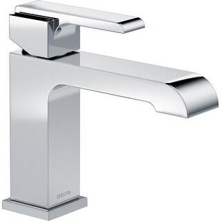 Delta 567LF-LPU Ara 1.2 GPM Single Hole Bathroom Faucet - Metal Pop-Up