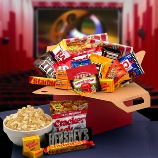 Link to Blockbuster Night Movie Care Package Similar Items in Gourmet Food Baskets