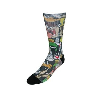 BioWorld Looney Tunes Sublimated Crew Character Socks