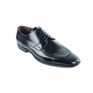 Bruno Magli Men's Black Leather Benny Lace Up Oxfords Shoes