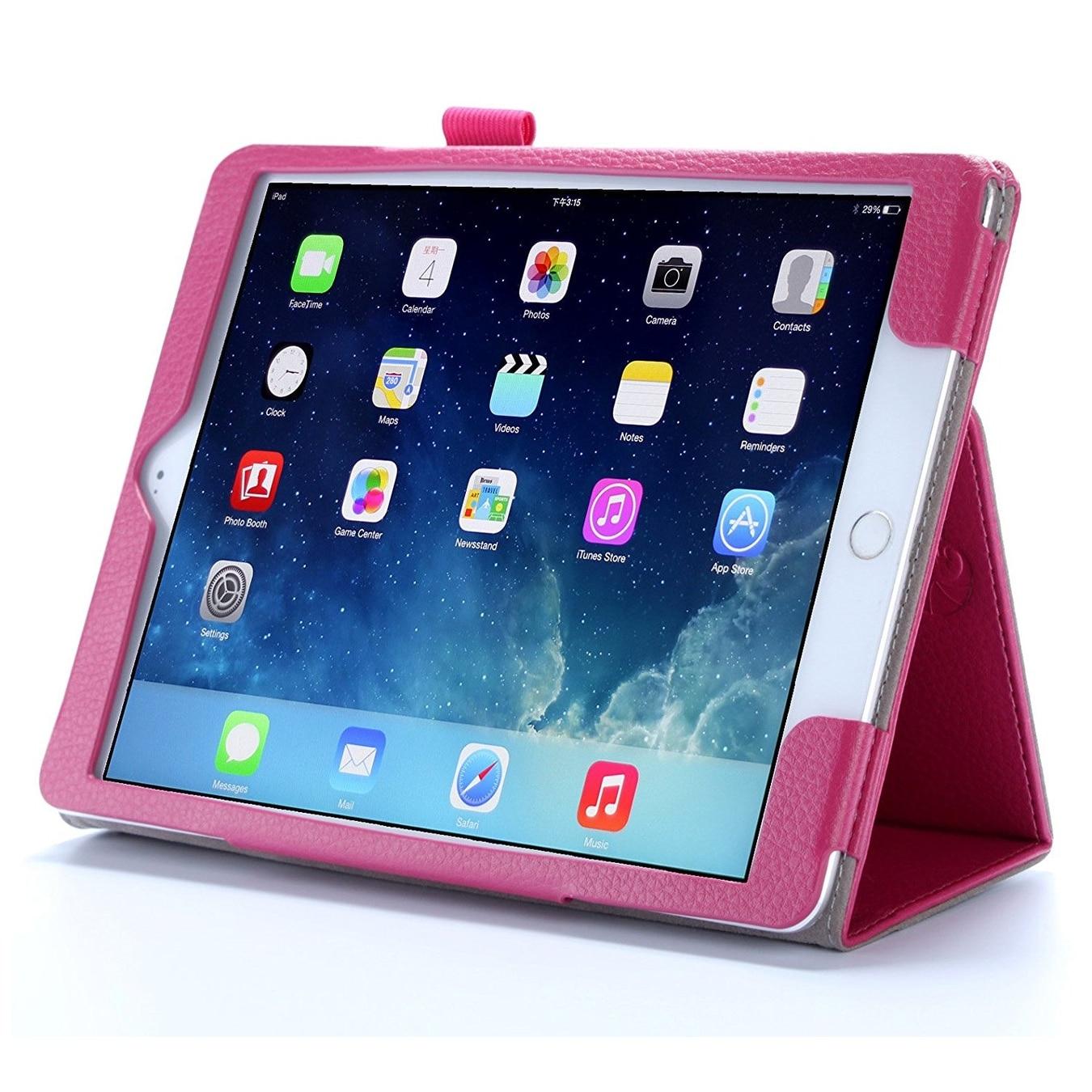 Tampa Bay Lightning Digi Camo Design on Black iPad Air 2 Swivel Stand Case