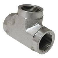 0.25 Female Pipe Hydraulic Tee Adapter