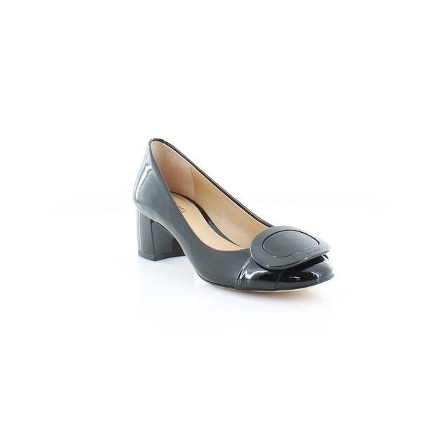 MICHAEL Michael Kors Pauline Mid Pump Women's Heels Black - 5