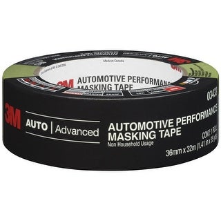 3M 03433 Automotive Performance Masking Tape, 36MM x 32M