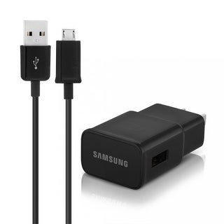 Samsung Fast Adaptive Charger with Micro USB Sync & Charging Cable, Black