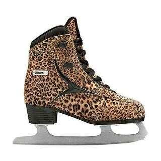 Roces Womens Ice Skate Pardus Light Brown/Black 450650-00001|https://ak1.ostkcdn.com/images/products/is/images/direct/0c4acc70fd109f9f83e0547db7df92a3160e5691/Roces-Womens-Ice-Skate-Pardus-Light-Brown-Black-450650-00001.jpg?impolicy=medium