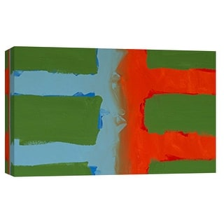 "PTM Images 9-101801  PTM Canvas Collection 8"" x 10"" - ""Color Study 1"" Giclee Abstract Art Print on Canvas"