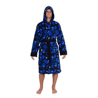 Doctor Who TARDIS Men's Fleece Bathrobe