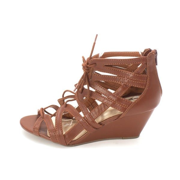 Material Girl Womens MHERA Open Toe Casual Strappy Sandals - 9