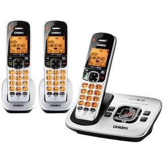 Refurbished Uniden D1780-3 Expandable Cordless Phone with 2 Additional Handsets