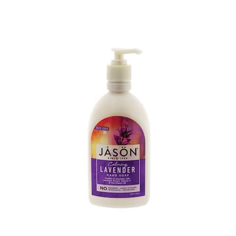 Jason Pure Natural Hand Soap 16 Ounce Calming Lavender