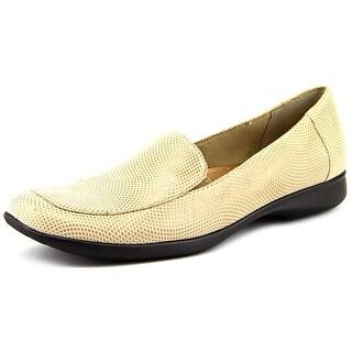 Trotters Jenn Mini Dots Square Toe Leather Flats