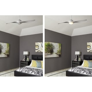"Craftmade Vogue 54"" 2 Blade Indoor Ceiling Fan - Blades, Remote and Light Kit Included"