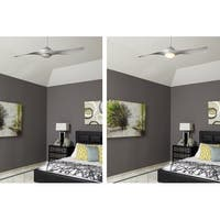 """Craftmade Vogue 54"""" 2 Blade Indoor Ceiling Fan - Blades, Remote and Light Kit Included"""
