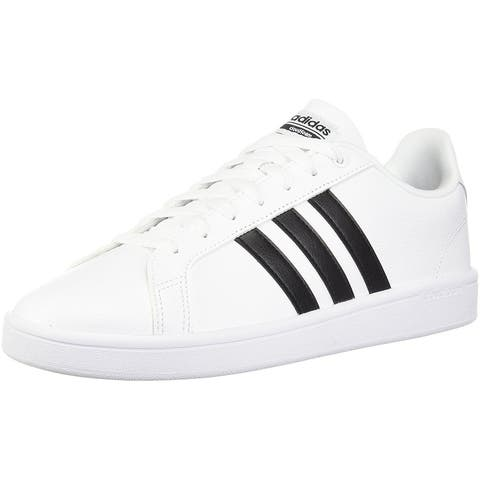 Adidas Womens advantage Low Top Lace Up Fashion Sneakers
